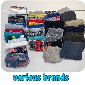 Boys short sleeves tees 11 pieces - 6T
